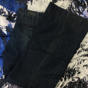  Levi's Capital E Wide Leg Denim Jeans